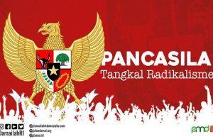 Pancasila Jalan Menuju Indonesia Tanpa Terorisme